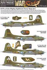 Kits-World 1/72 Boeing B-17F Flying Fortress Nose Art from the Mighty 8th # 7201