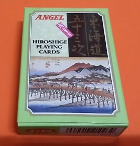 Angel Hiroshige Playing Cards in mint condition