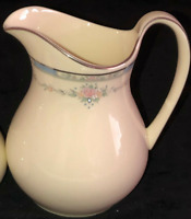 "Vintage Royal Doulton Bone China LISA 4 3/4"" CREAMER 1989 England H 5154 Floral"