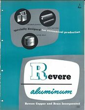 MRO Brochure - Revere - Aluminum - Products Applications Overview - 1953 (MR72)