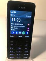 Nokia Asha 206 - Black - (Unlocked) Mobile Phone - Fully Working & Tested