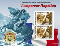 Guinea Famous People Stamps 2020 MNH Emperor Napoleon Bonaparte 2v S/S + IMPF