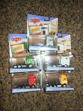 DISNEY CARS CLASSICS OVERSIZED CHET, GIL, BEN, JERRY, PAUL HAULER CABS SET