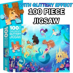 100 Piece Hinkler Jigsaw Mermaids Puzzle Kids Junior Puzzle Games