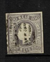 Portugal SC# 23, Used, Hinge Remnant, minor toning, horizontal crease - S7753