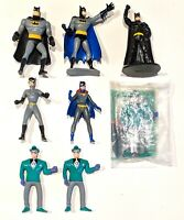 CHOOSE: 1992-2001 Batman Cake Topper/Fast Food * Action Figures DC Comics