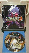 DISGAEA 3 Absence Of Justice PlayStation 3 PS3 NIS America Strategy RPG Complete