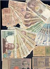 10000 x 6 + 5000 x 4 + 2000 x 12 + 1000 + 2 x 3 + 1 lira x 8 lotto 153
