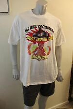 XL white Transport Workers Local 100 NYC shirt West Indian Day Parade