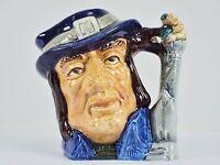 "Toby Character Jug (Small) ~""Gulliver"" ~ Royal Doulton D6563, #9120980"