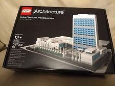 LEGO Architecture UNITED NATIONS HEADQUARTERS 21018 New York City, NY, USA UN HQ