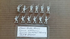 15mm Battle Honors Spanish Napoleonic Musketeers advancing