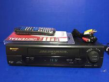 Sharp VCR VC-A585U 4 Head  VCR VHS - Video Cassette Recorder / Player
