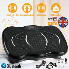 Bluetooth Vibration Power Plate Vibration Trainers Exercise Platform Machine UK
