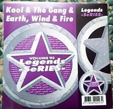 LEGENDS KARAOKE CDG KOOL & THE GANG & EARTH WIND & FIRE #93 SOUL R&B 16 SONGS