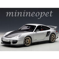 AUTOart 77961 PORSCHE 911 997 GT2 RS 1/18 MODEL CAR SILVER