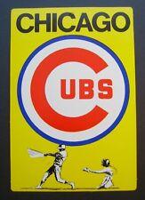 1973 Chicago Cubs Fleer Baseball Big Sign MLB