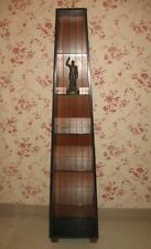 Ethan Allen Obelisk Bookcase Country Colors Ebony Black on Cinnamon Maple 1035