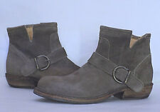 FIORENTINI + BAKER Buckle Ankle Boots-Size 36/6M-Beige color-very good condition