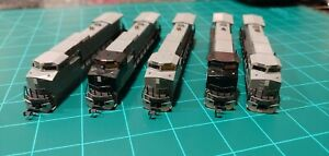 n scale Kato C44-9w shells for Norfolk Southern NS