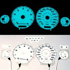 FOR Acura Legend 91-95 MT El Glow Gauge Indiglo Dash White Face El Cluster Gauge