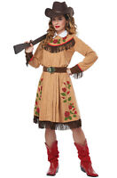 California Costumes - Cowgirl/Annie Oakley Adult - Wild West Western Costume