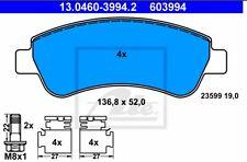 PASTIGLIE FRENO ANTERIORE PEUGEOT  2008  1.6 VTI  88 KW '13> 603994 ATE FDB1399