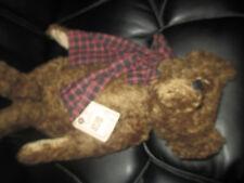 "New Rare Boyds Bear Retired Cute Mohair Bear Jackson Bearington 16"" No box VHTF!"