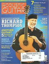 David Thompson Acoustic Guitar mag Fairport Convention