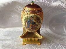 Edgar Berebi Limited Edition Asian Japanese Pagoda Cameo Mikado Egg
