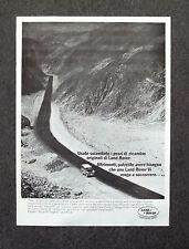 G131-Advertising Pubblicità - 1982 - LAND ROVER  RICAMBI ORIGINALI