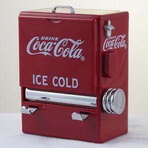 Coca Cola Coke Toothpick Dispenser, Looks Like Soda Machine by TableCraft NEW!!