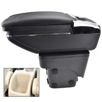 For Ford Focus 2 Mk2 2005-2011 Storage Box Arm Rest Rotatable Armrest