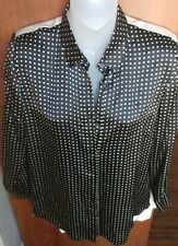 AR White And Black Blouse