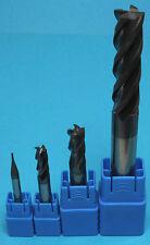 Fraise carbure 4 dent diamètre 10mm Revêtue AlTiN HRC45