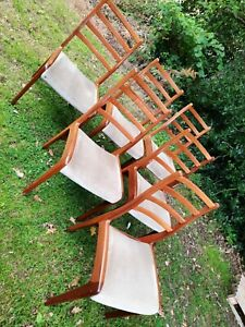 G Plan Solid Teak and Chairs - Victor Wilkins