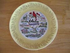 """Nice Ohio State Decorative Plate 10"""" - Free Shipping!"""