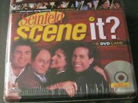 Deluxe Edition Seinfeld Scene It  DVD Trivia Board Game ~ Tin Box Sealed