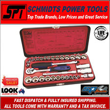"SP TOOLS SP20200 3/8"" DRIVE METRIC & IMPERIAL SOCKET SET 32 PCE SET & CASE SAE"