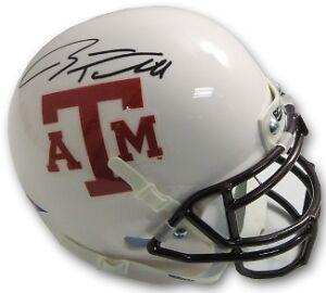 Ryan Tannehill signed Texas A&M Aggies Auth White Mini Helmet - Upper Deck Holo