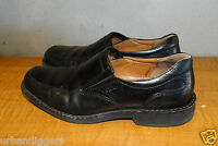 12425/ Mens ECCO Black Leather Loafers / Driving  Shoes ~  Sz. 41 US 8