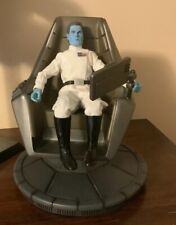Sideshow Exclusive Thrawn and Command Chair 1/6 Not Hot Toys Star Wars