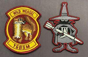 USAF F-4 Phantom Wild Weasel patch SAM ECM YGBSM Radar Electronic Attack HARM