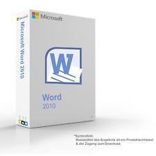 MS Microsoft Word 2010 1PC Original 64/32-Bit Vollversion