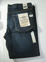 New Pair Men's Authentic Rugged Company Dark Denim Blue Jeans 42 x 32 Pants NWT