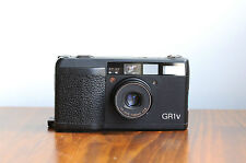 RICOH GR1v  35mm film Camera,  Ricoh GR Lens 28mm f/2.8   w/ leather case  -read