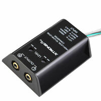 Two Channel Speaker RCA Line Level Converter Adapter Car Audio High Low Rear