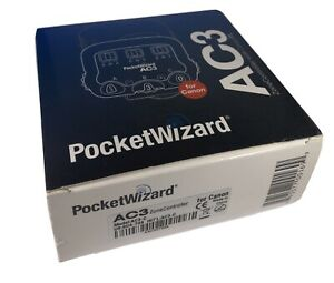 PocketWizard Flex AC3 Zone Controller for Canon MiniTT1 FlexTT5 ControlTL