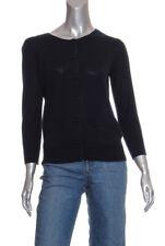 NEW DKNY 3/4 sleeve Merino Wool Cardigan Sz P $255
