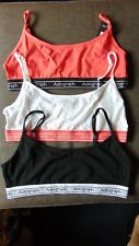 M&S Autograph Set of 3 Supersoft Cotton Rich Crop Tops 13-14yrs Neon Mix BNWT